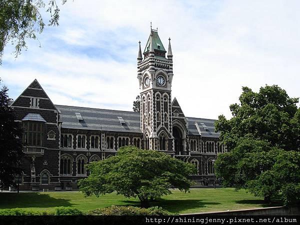 Otago大學最著名的鐘塔