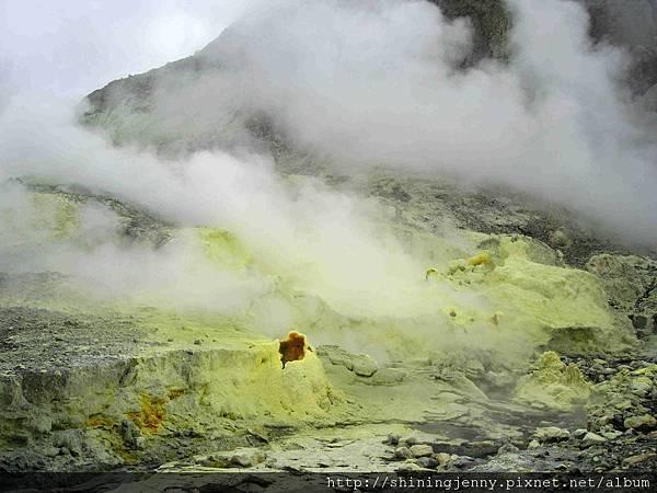 這片硫磺色超美的