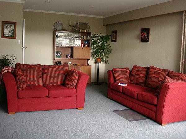 我住的homestay的客廳