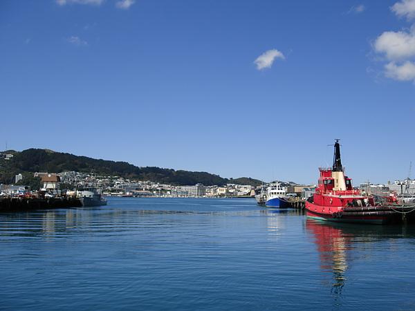 Wellington的港口