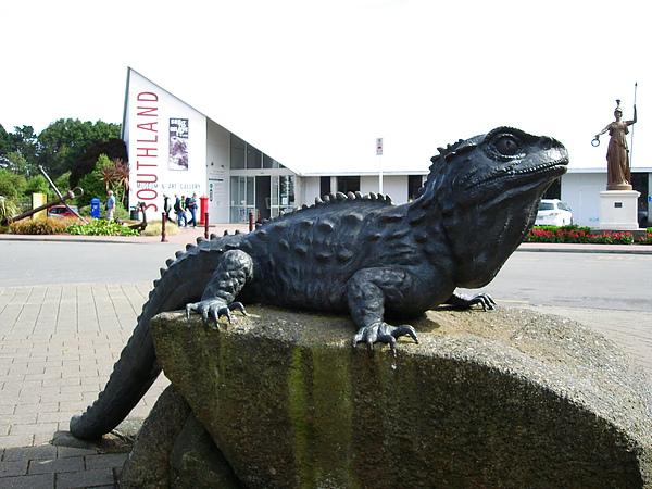 tuatara & i-site & museum