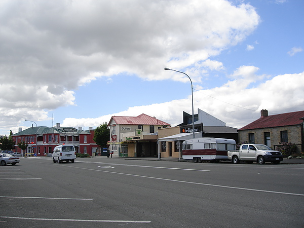 Roxburgh小小鎮小小街道
