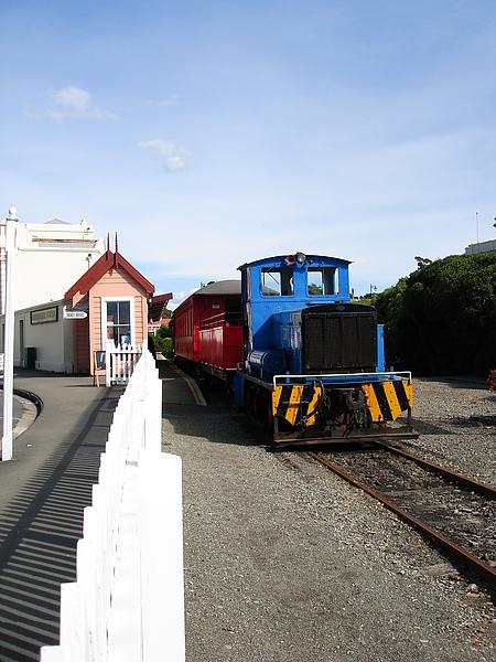 星期日會開的蒸汽火車