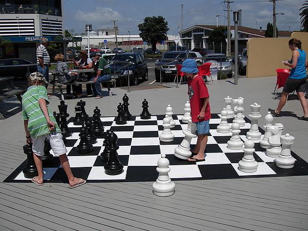 可以玩好大的西洋棋