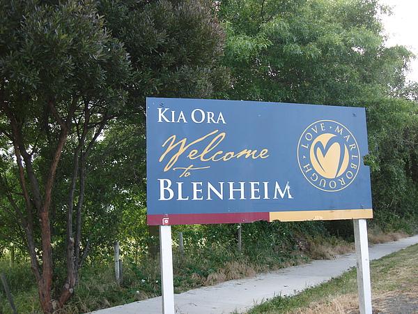 歡迎來到Blenheim