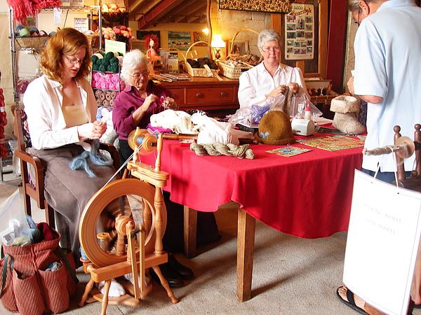 手工毛織品店