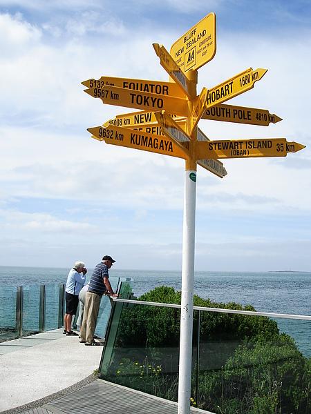 Bluff的有名世界路標