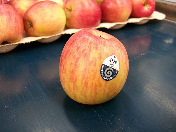紐西蘭的富士蘋果