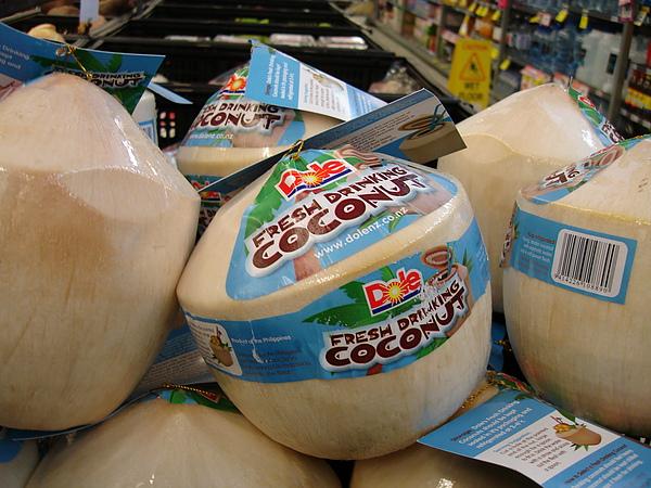 椰子這樣包裝也太可愛了吧