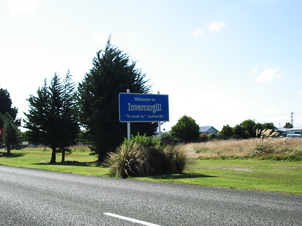 Welcome to Invercargill
