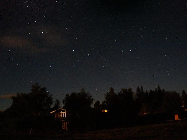 終於看到滿天星斗
