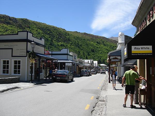 Arrowtown小而美的街道