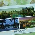 蕾蕾從布里斯班寄給我的聖誕明信片.JPG