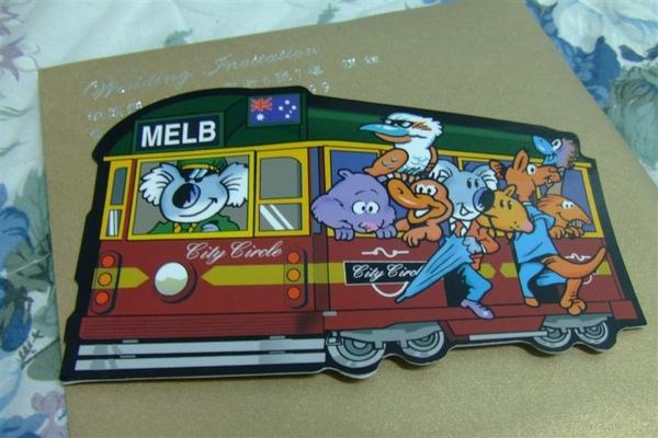 2009.02蕾蕾從墨爾本寄的明信片.JPG