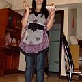 小姑說這樣拍看起來腿會比較長.JPG