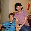 奶奶&小姑姑.JPG