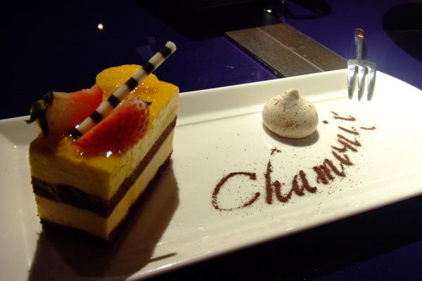 甜點--法式香頌慕斯.JPG