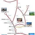 交通時程圖