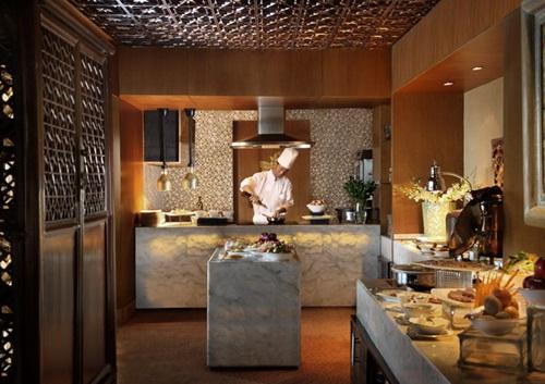 Club Lounge pantry