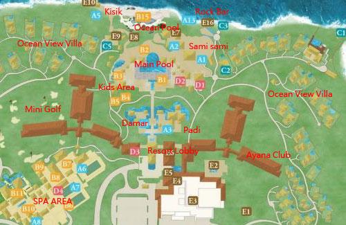 Ayana map