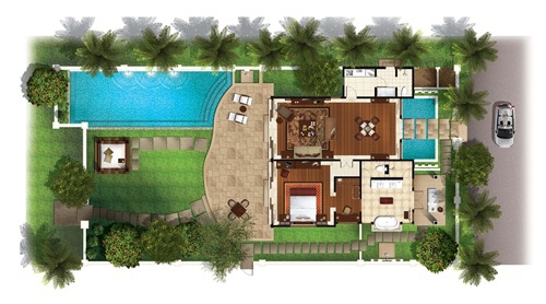 the laguna villa layout