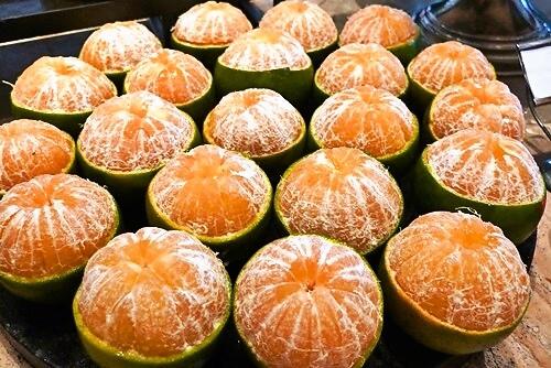 ST Regis Bali Boneka fruit Buffet