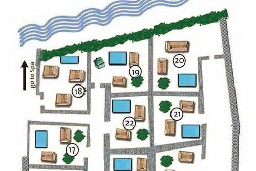 Kayumanis Ubud map