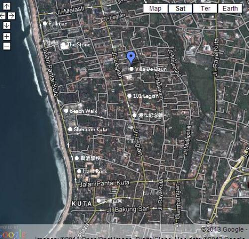 De Daun Map