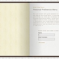 Alila Villas Soori Personal Preference Menu (PPM)