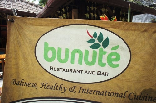 Bunute Ubud Restaurant