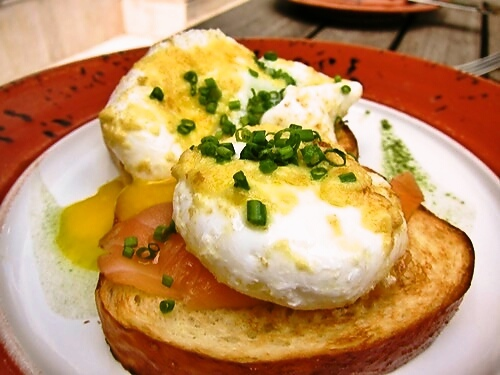 Poached Eggs Benedict