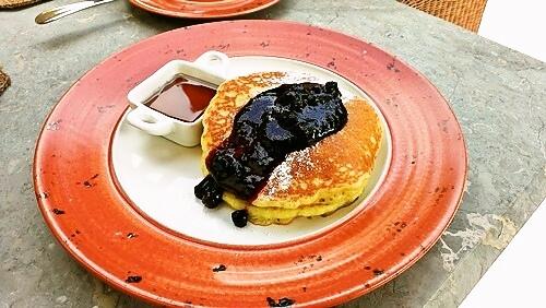 香草鬆餅 Vanilla Pancake