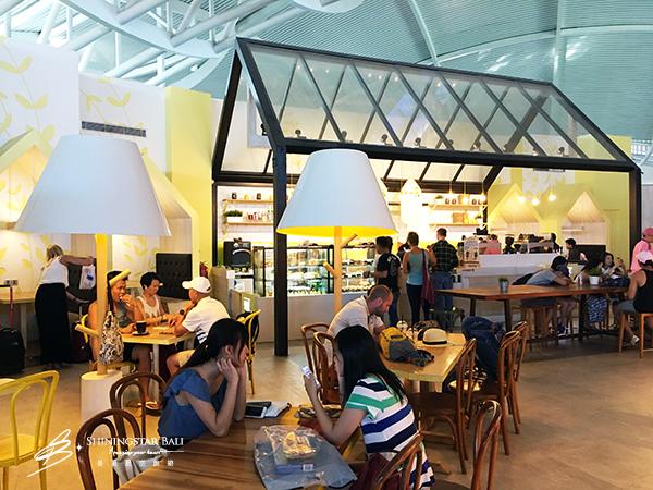 峇里島機場候機室