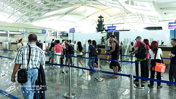 峇里島機場出境