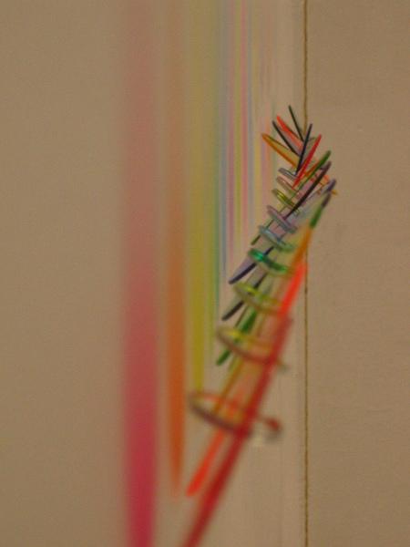 光線拉長了色彩