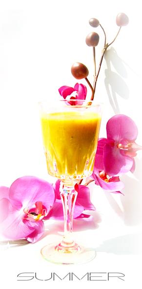 南瓜柑橘鮮奶汁 健康養生