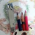 我可憐的色鉛筆快燃燒殆盡殘存圖