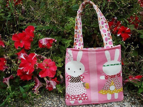 990326圈圈小兔兒童雙面提包[子供お買い物バッグ]3.jpg