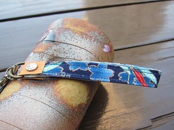 991101藍櫻和風組6-手機吊飾