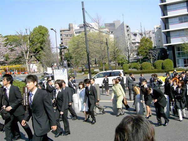 結果武道館被用作東洋大學入學會場