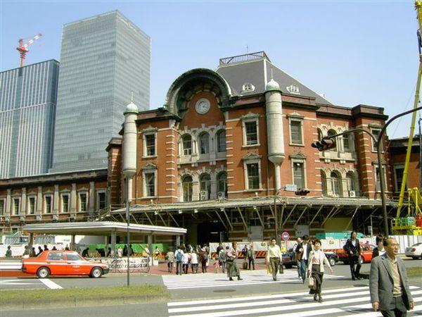 維修中的東京車站,此時已放棄我的Hero之路
