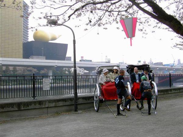 隅田川也可看到啤酒泡沫