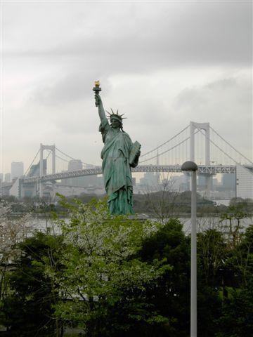 台場的小自由女神像