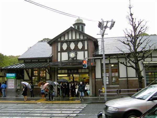 原宿車站很有特色