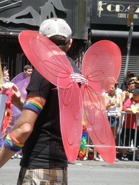 翅膀是主要的裝扮之一