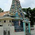 飯店巷口的印度廟