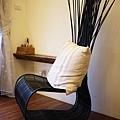房間的造型椅