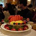 雙層水果盤  氣派