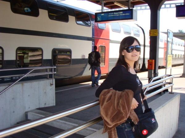 瑞士火車站