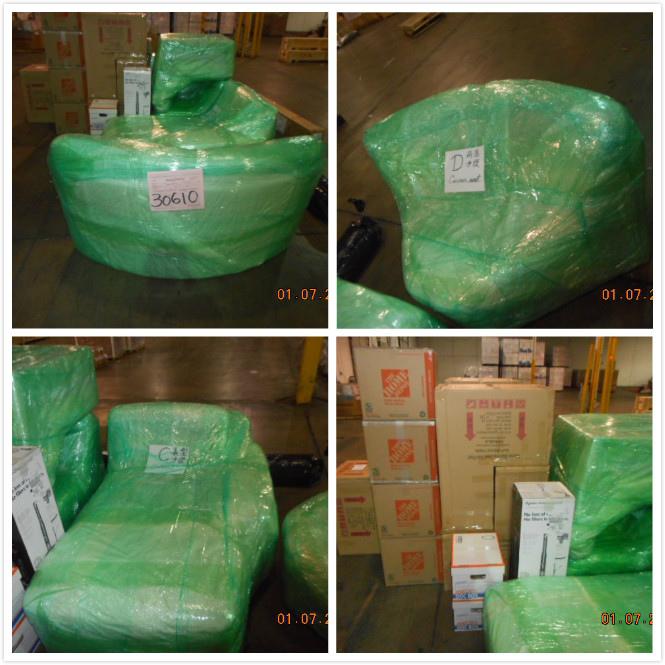 Ship2TW將照片第一時間傳給周小姐讓她可以放心,  這些行李、傢俱會在出口倉庫經過大約一周左右文件及海關查驗和船班安排就可以出口回台灣了,Ship2TW協助代辦海運大型物品回台灣Ship2TW在台灣及美國註冊海運公司,地址在加州洛杉磯及台灣新竹,美國電話 626-873-4458,台灣電話03-667-6686,專業協助大家從美國海運行李及搬家回台灣,例如汽車、散貨行李、貨櫃搬家、大宗物資等,因為大盤批發運費所以數量越多體積越大費用越划算,每週都有船班回台灣,海運時間約3-4星期,如果有任何問題,歡迎詢問